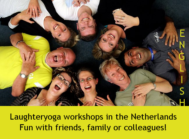 nglish laughter workshops in Holland