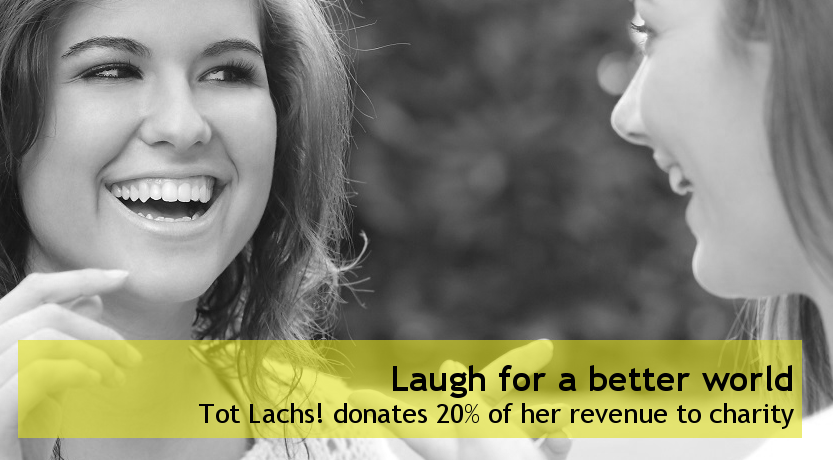 laughter workshops of which the revenue goes to charity
